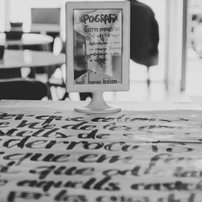 exposició cal·ligrafia