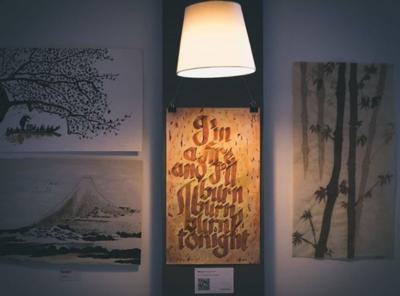 Exposición caligrafía artística